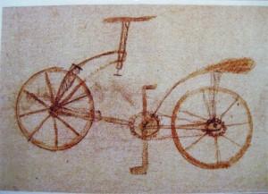 Disegno bicicletta