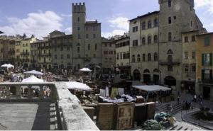 Arezzo Mercato dell'antiquariato