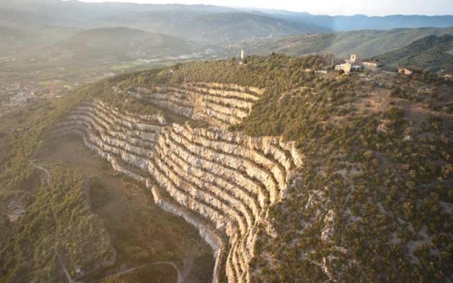 Steinbruch von Monsummano Terme